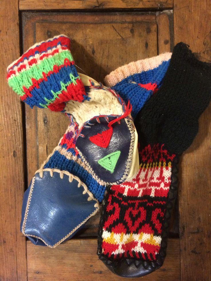 70's & 80's slippers