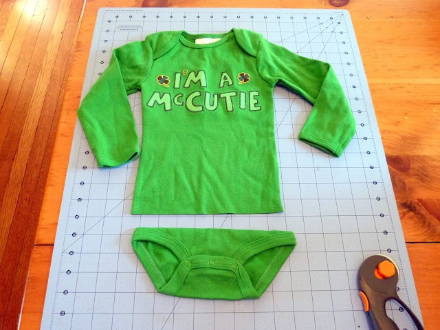 DIY Onesies to Tops ... What a great idea and money saver!