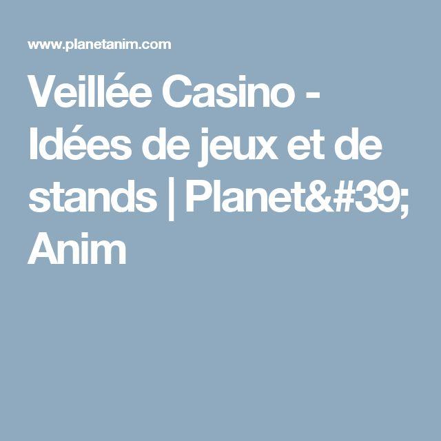 Amante Veillée Casino - Idées de jeux et de stands | Planet' Anim #QM_54