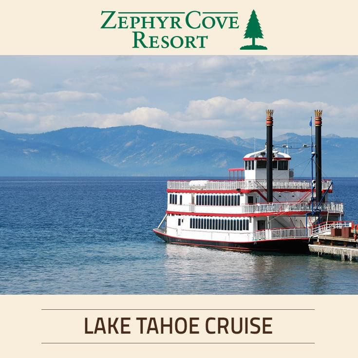 Our Lake Tahoe boat cruises to Emerald Bay are an absolute must – offering views of the most incredible scenery in the world.