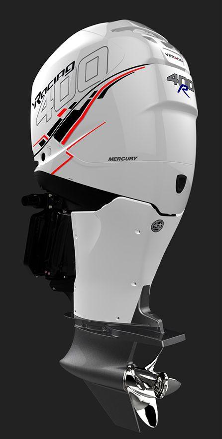 White Verado 400R   Mercury Racing