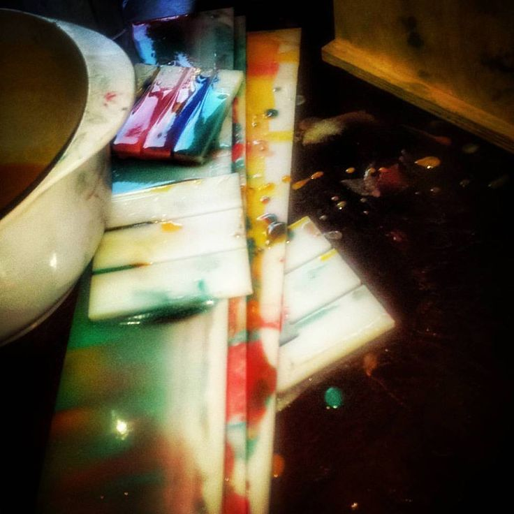 My creativity, well that is what I like to call it when its time to clean up... But love my dividers to bits so fun!! Carnivale