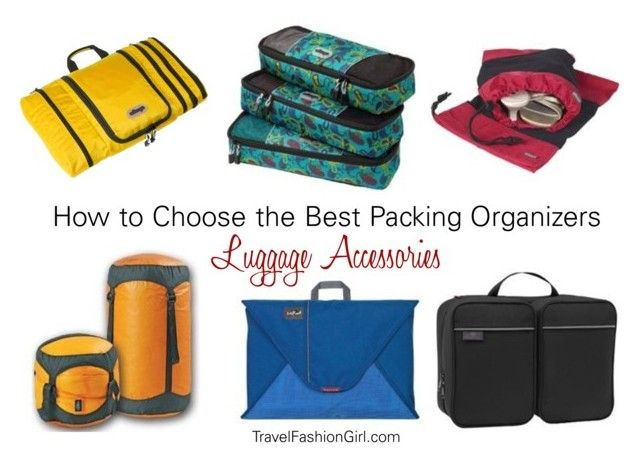 """Luggage Accessories: How to Choose the Best Packing Organizers"" by travelfashiongirl ❤ liked on Polyvore featuring eBags"
