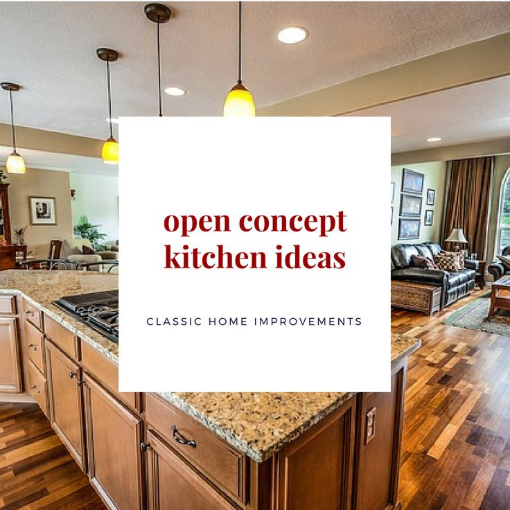 Open Concept Country Kitchen Layouts: 23 Best Open Concept Floor Plans Ideas Images On Pinterest