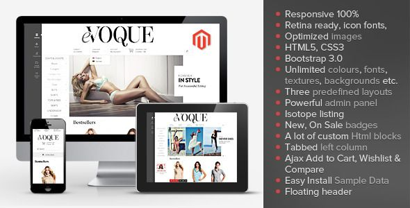 This Deals eVoque - Premium Responsive Magento ThemeWe have the best promotion for you and if you are interested in the related item or need more information reviews from the x customer who are own of them before please follow the link to see fully reviews