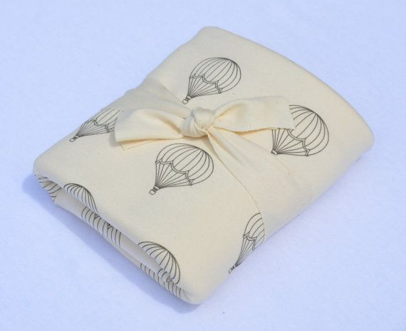 mens shoes size 11 5 Organic Baby Blanket  MADE TO ORDER  Baby Shower Gift  Hot Air Balloon print by House of Mia on Etsy   40 00