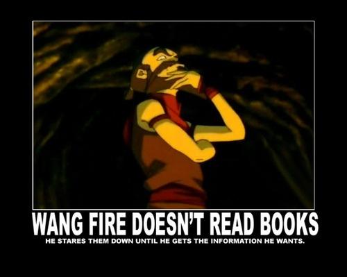 Avatar The Last Airbender: Fire. Wang Fire.