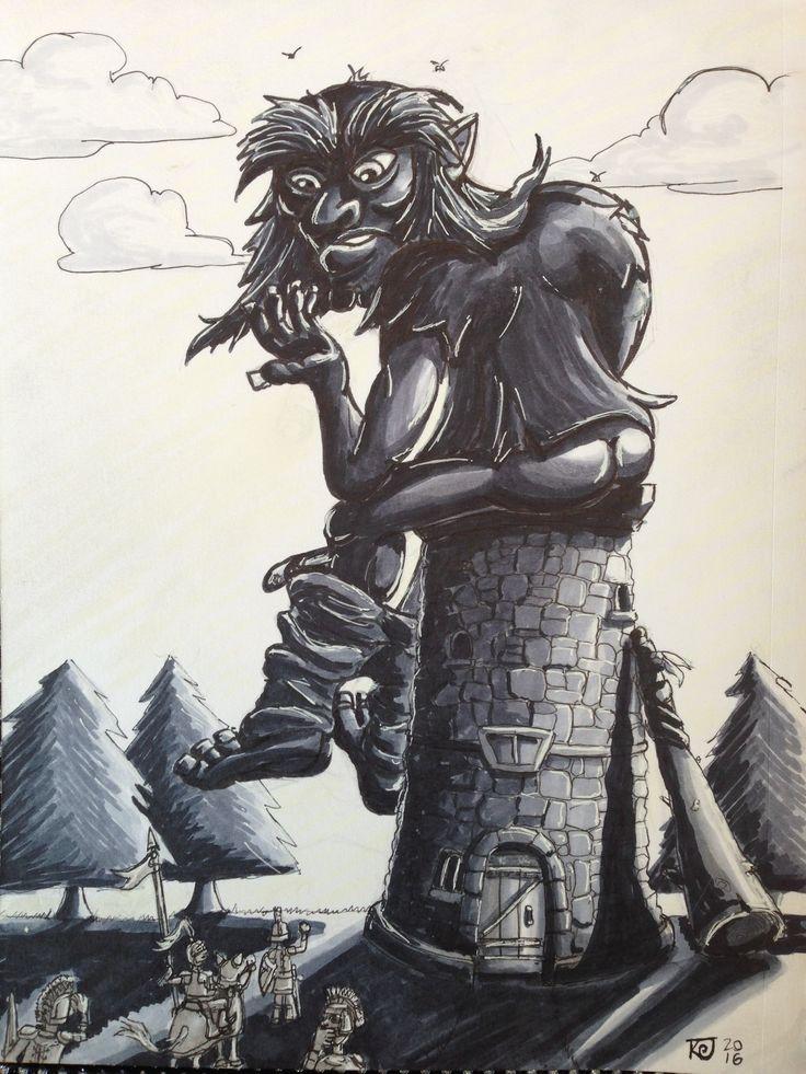 2016 ink illustration by Kevin 'Doodleworx' Jones.