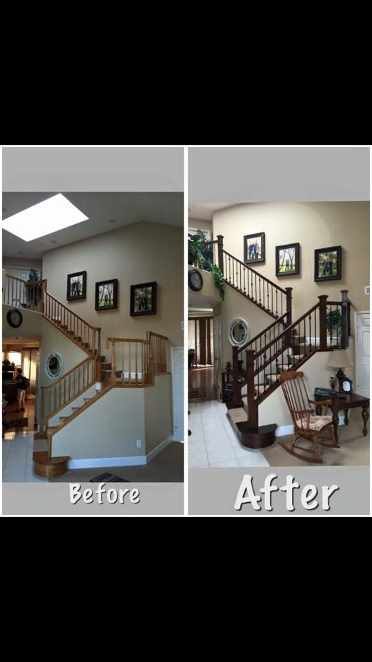 K Pinson Stairs. Highly Recommend Him, Locally Owned As Well. 951 795