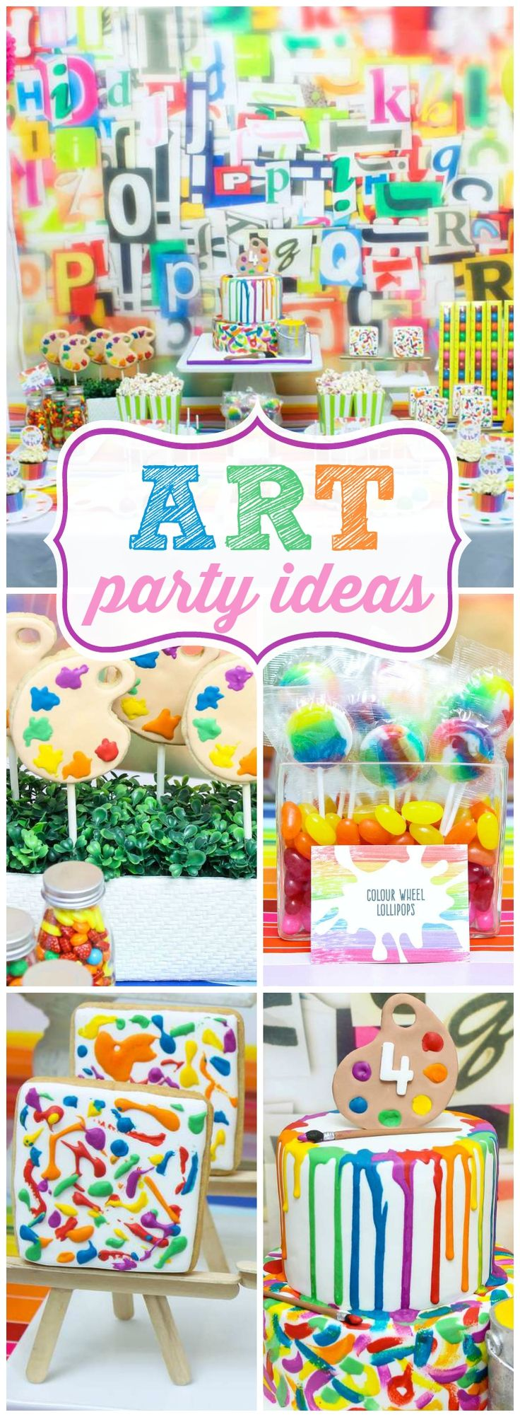 Best 25 Art Birthday Parties Ideas On Pinterest Art Party intended for craft ideas 2 year old birthday party with regard to Fantasy