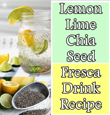 The Homestead Survival | Lemon Lime Chia Seed Fresca Drink | http ...