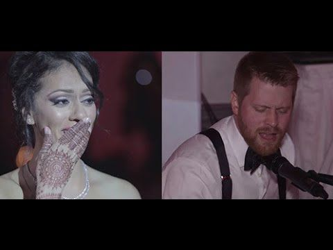 "This Canadian Groom Singing ""Tum Hi Ho"" For His Indian Bride Will Give You Intense Feels"
