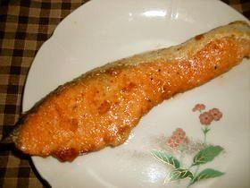鮭のムニエル☆バターしょうゆ味❤