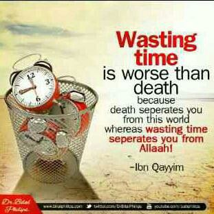 Wasting of time..