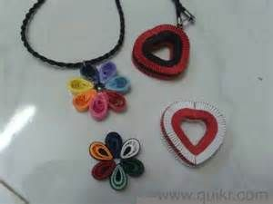 Quilling pendant,earings (stud,jumkha,different models) Bruce fashion ...