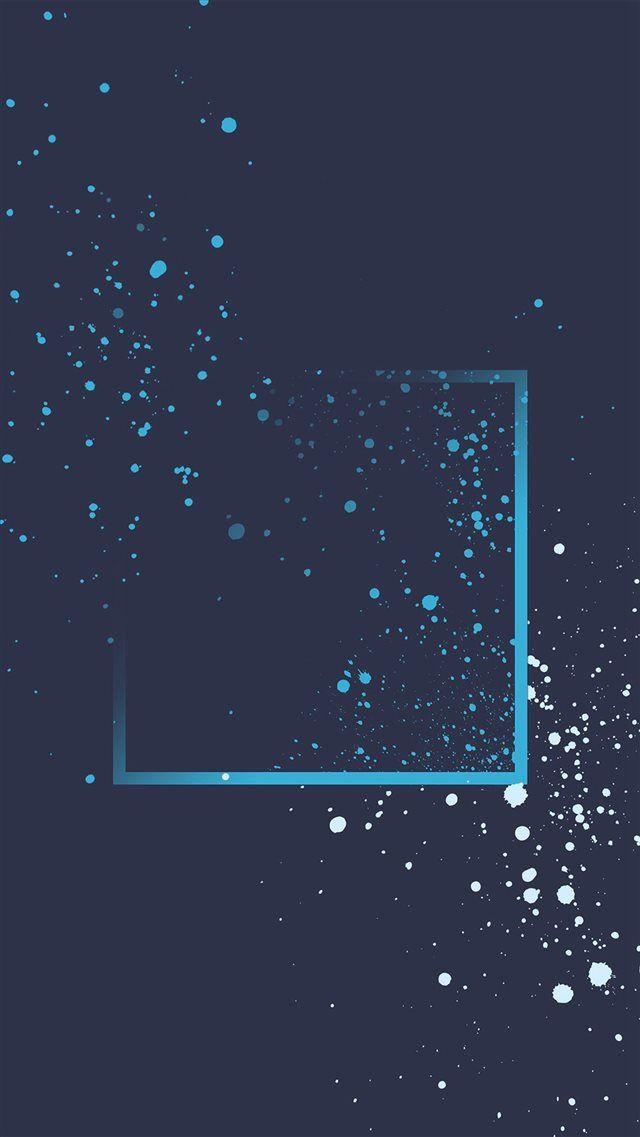 Blue Dot Paint Art Pattern Htc Background Iphone 8 Wallpaper