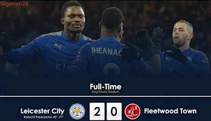 Leicester City vs Fleetwood Town 2-0 — Highlights & All Goals — 16/01/2018 |HD|