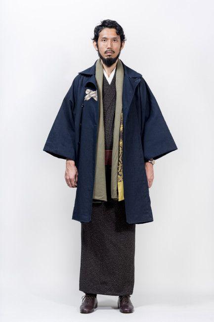 遊び心ありこれはアツい!メンズ着物「Y.& SONS」初の秋冬コレクションを紹介 – Japaaan