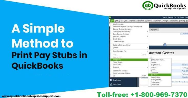 Steps to Print Pay Stubs in QuickBooks Desktop [A Complete