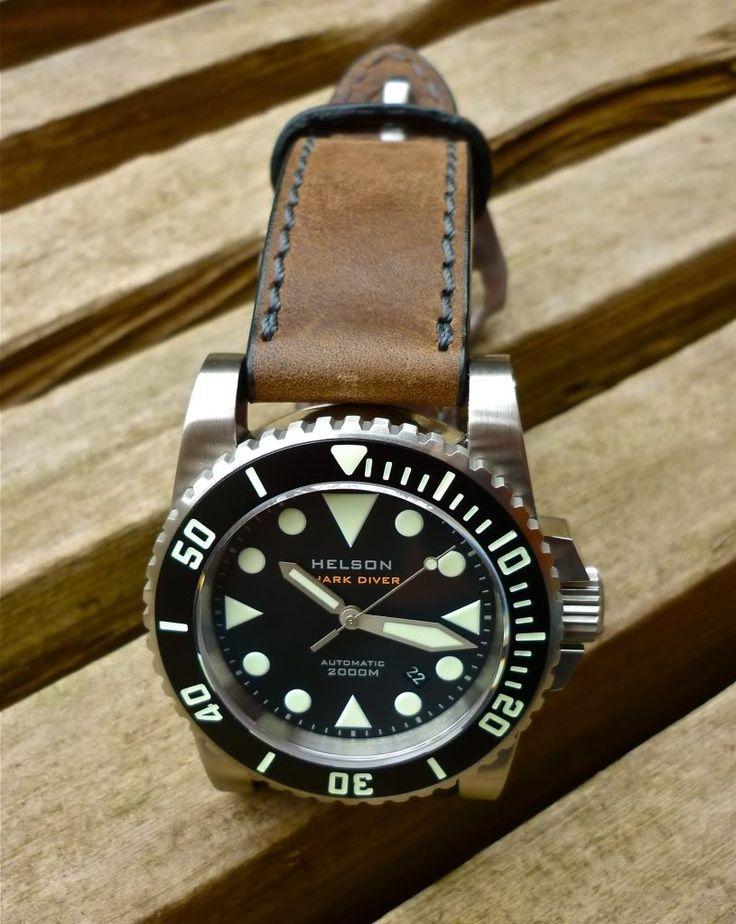 Helson Shark Diver Watch