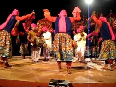 Dhangari Gaja is a folk dance performed by Dhangars.