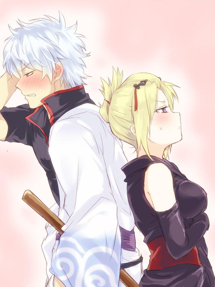 Gintoki and Tsukuyo