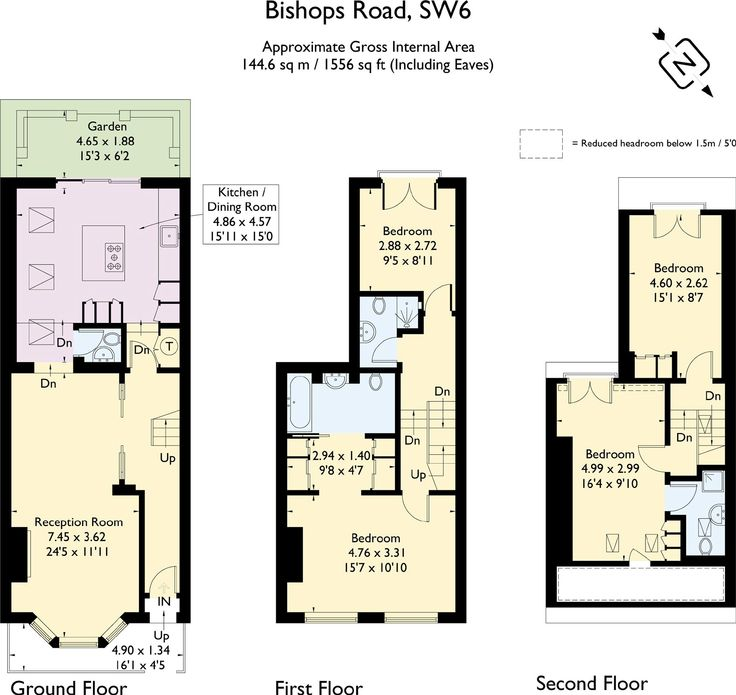 Utility, ensuite master bathroom and 2 loft rooms and bathroom