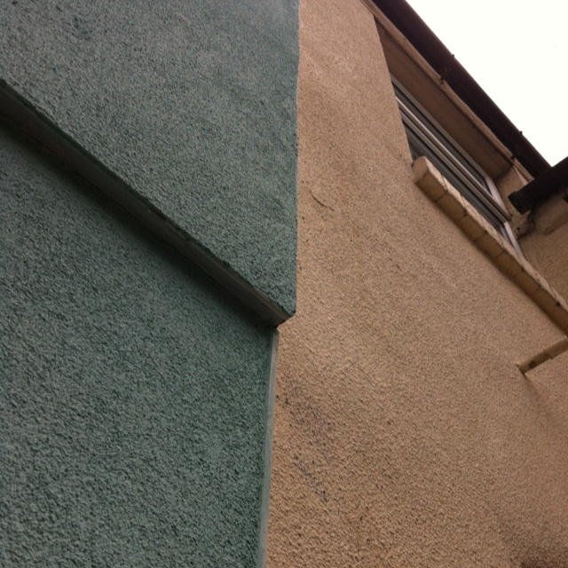 Superb You Can See The Insulation Sticks Out Just A Little Bit And Looks Great As  Well As Keeping This Old Terraced House Warm In Winter.