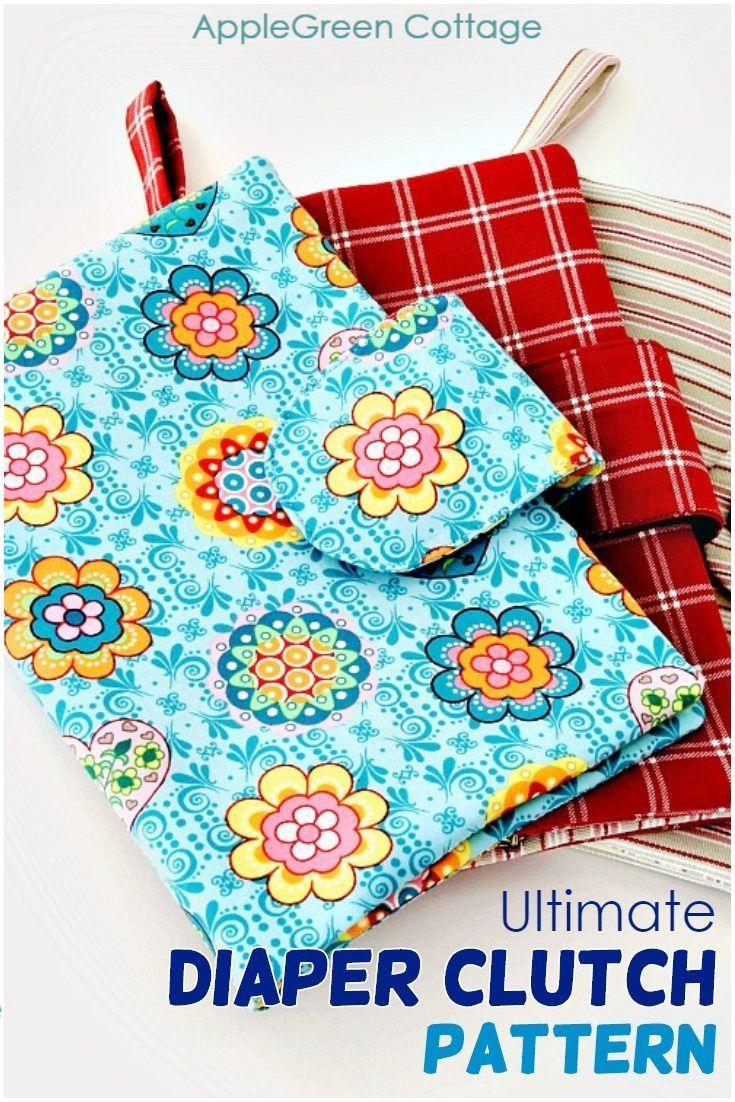 Diaper Wallet Nappy Wallet Diaper Clutch Nappy Clutch Travel Diaper Pouch Baby Shower Gift New Mom Gift DIaper Storage Diaper Organizer