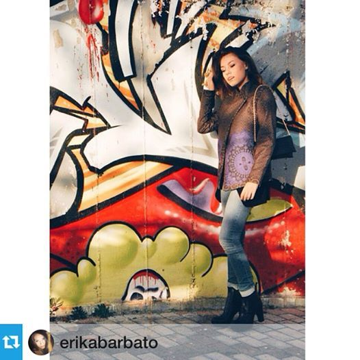 @erikabarbato  #fashion #blogger #alfaomega #alfaomegabrand #alfaomega #emily #albers #wool #cold #cool