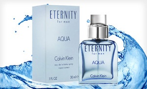 Great price !!! Groupon - $22 for Calvin Klein Eternity Aqua Men's Cologne ($35 List Price). Free Shipping. in Online Deal. Groupon deal price: $22.00