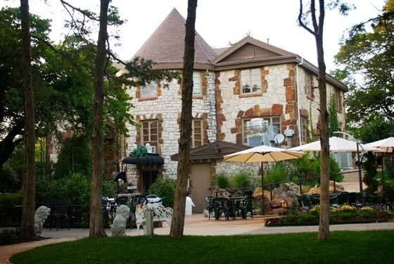 4.) Castle Falls-OKC: Located in the heart of downtown OKC, this authentic castle was designed after a castle in France.  It is a popular wedding venue and event center.