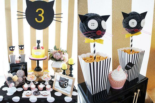 Кошачья вечеринка для детей: усато-полосатое веселье