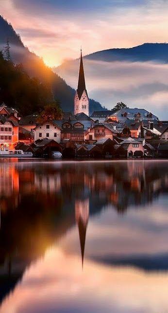 Beautiful Hallstat, Austria.