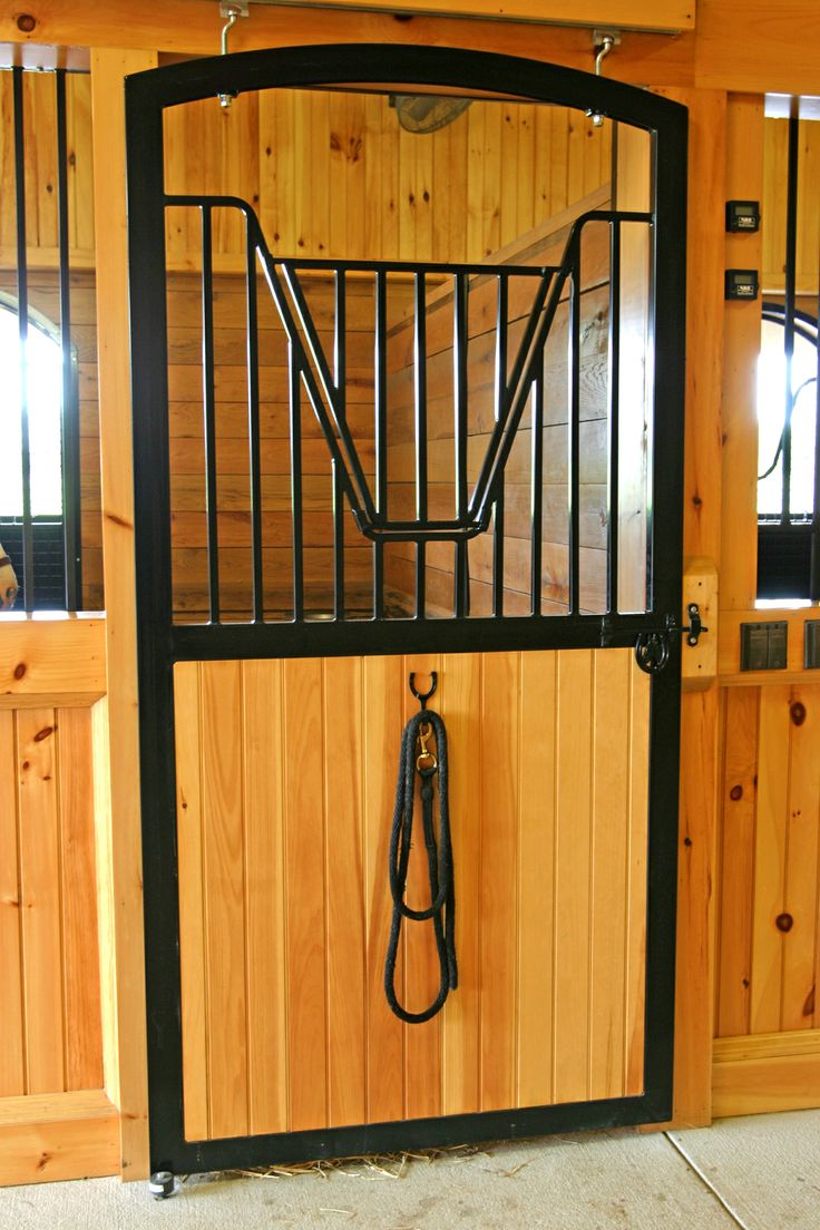 2130 best beautiful barns images on pinterest dream barn for Horse stall door plans