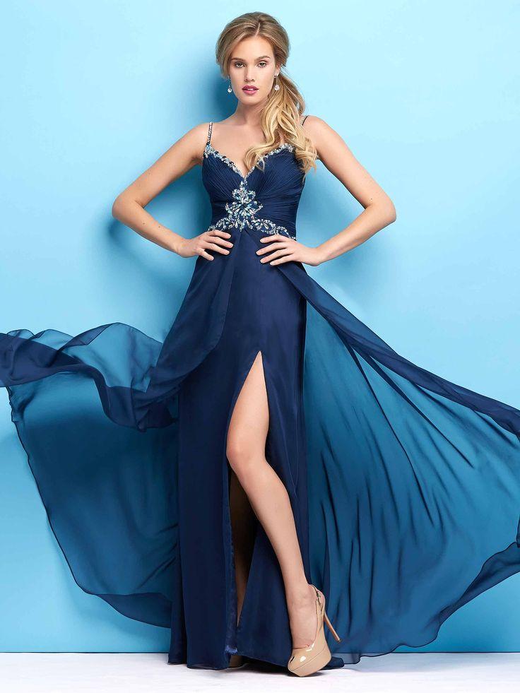 #darkblue #amazingdress / Piękna suknia wieczorowa w kolorze głębokiego granatu