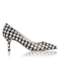 Florisa Printed Leather Point Toe Court