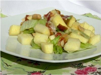 Almás baconos saláta   Csak a Puffin ad Neked erőt