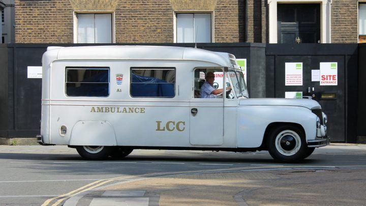 1949 Daimler ambulance