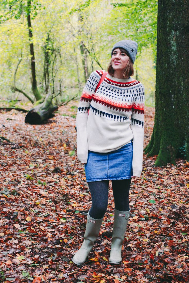 Alpine autumnal fashion for a weekend in the woods
