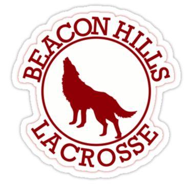 """Beacon Hills Lacrosse | Teen Wolf"" Stickers by BrocksLife | Redbubble"