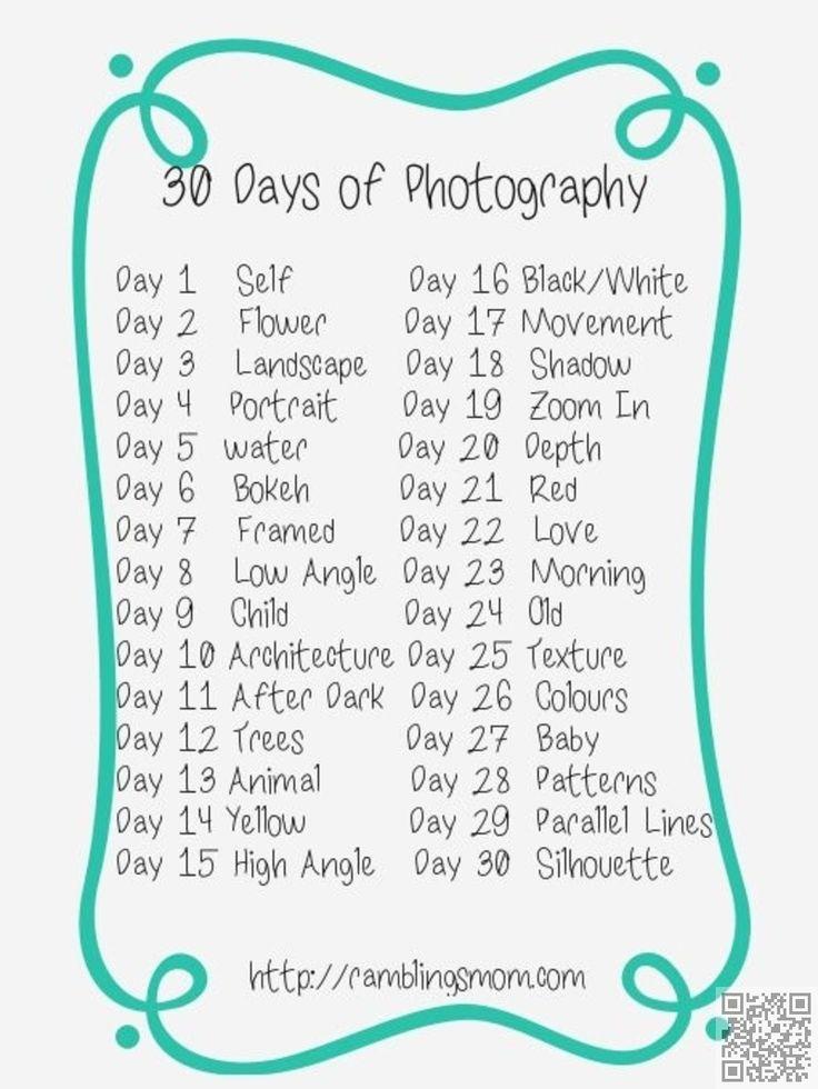 30 Tage Foto-Challenge, auf die Plätze, fertig, auslösen! :) – StefAny Flannelette