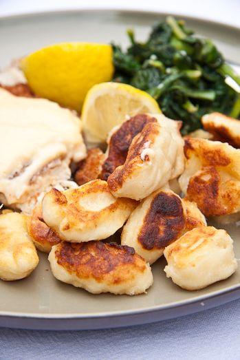 Nigella Lawson's Fried Gnocchi (Rapid Roastini)