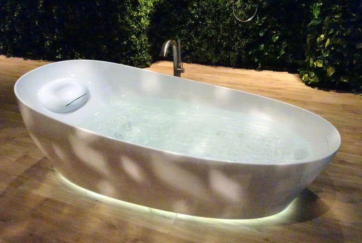 Toto Flotation Tub With Zero Dimension Bathtub Refinish