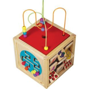 Buy Chad Valley Wooden Activity Centre at Argos.co.uk - Your Online Shop for Baby activity toys, Pre-school.