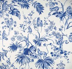 Blue And White Fabric Patterns Google Search