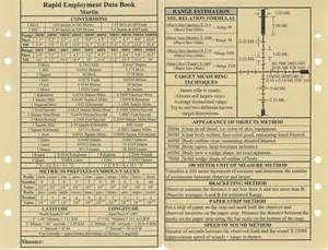 printable sniper data book pdf descriptions