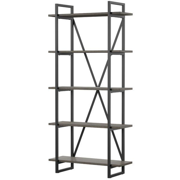 Keeble Metal Etagere Bookcase With Images Etagere Bookcase