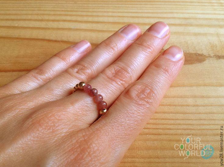 Купить Турмалиновое настроение / кольцо // Tourmaline Mood / Ring