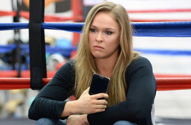 Ronda Rousey may be down, but she's not yet ready to go out. The former UFC women's bantamweight champion has been radio silent since her loss to Holly Holm – until now.